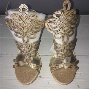 Bebe high heels shoes
